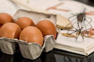 huevos y aceite de Jaén