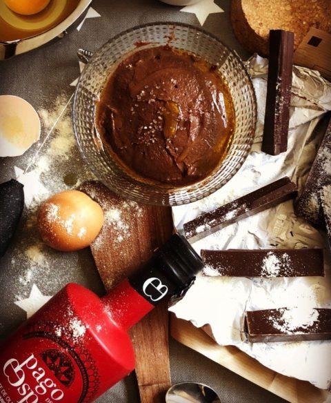cahocolate y aceite