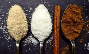 azúcar y aceite virgen extra
