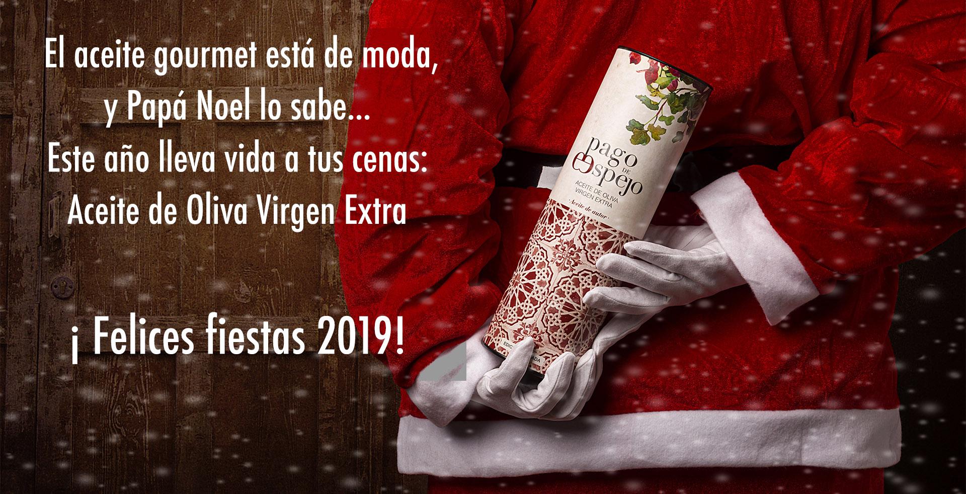 Aceite virgen extra y Papa Noel